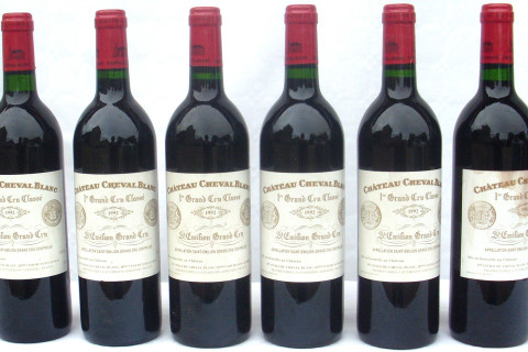 6 Bouteilles Château Cheval Blanc wanted-vin.com