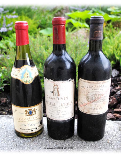 estimation gratuite vieux vins à vendre rachat bouteilles