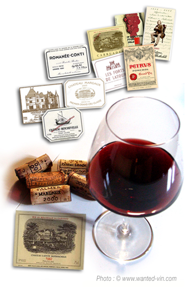 vins à vendre les plus recherchés et spéculatifs Le Top 20 des vins. Classement des vins à vendre les plus recherchés et spéculatifs