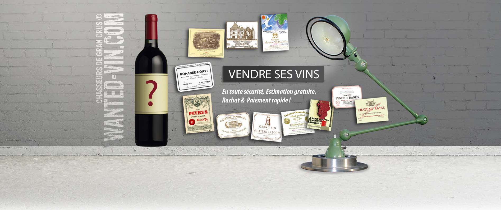 vendre des vins rachat bouteilles estimation vin wanted vin grands crus. Black Bedroom Furniture Sets. Home Design Ideas