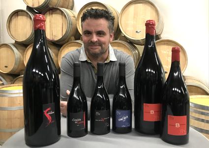 Benoît Montel les vignes et vin d'auvergne