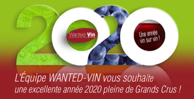 Carte de voeux 2020 Wanted Vin vendre des vins